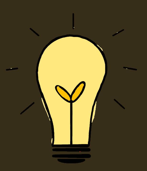 Design Thinking Gluehbirne