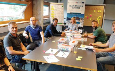 Design Thinking München auf den Innovationstagen in Lienz